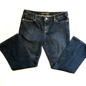 Michael Kors Jeans - Michael Kors Boot Cut Jeans W/Gold Studded Pockets
